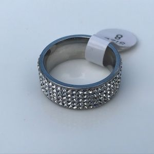 Jewelry - Women Rings Fashion Jewelry Silver Ring Size 8